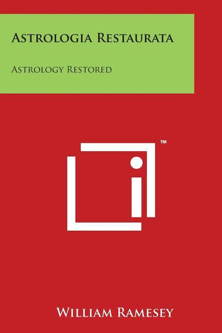 astrologica restorata