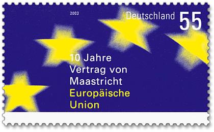 Stamp_Germany_2003_MiNr2373_Vertrag_von_Maastricht