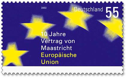 Stamp_Germany_2003_MiNr2373_Vertrag_von_Maastricht_copy