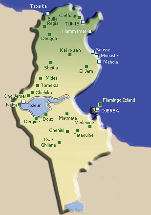 tunisia-map