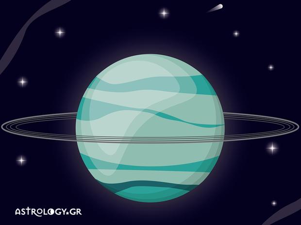 Η σημασία του πλανήτη Ουρανού, από τον Γιάννη Ριζόπουλο