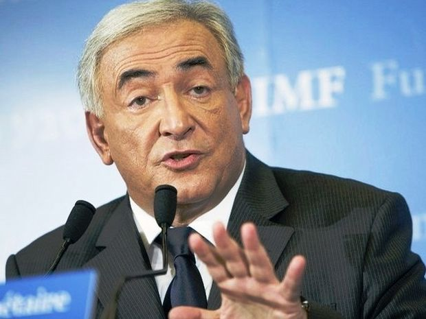Άβε Καίσαρ-Ο Dominique Strauss Kahn στην Αθήνα