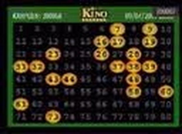 KINO - Οι Τυχεροί αριθμοί από 1/1 έως 7/1