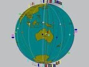 Αστροχαρτογραφία-Οι διασταυρούμενες γραμμές των αργών πλανητών
