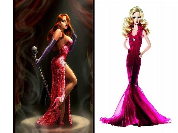 Αφροδιτη. Η Jessica Rabbit και η Πριγκίπισσα Barbie