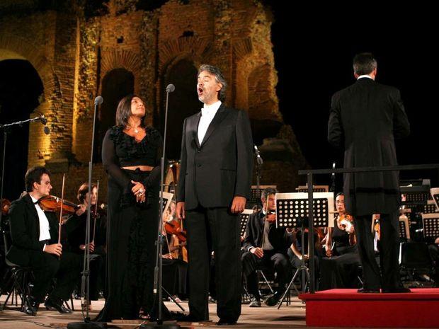 Andrea Bocelli-Όταν ο Θεός έπλασε τη φωνή