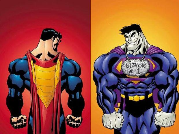 Ο Αρης. Ο Superman και ο Spiderman