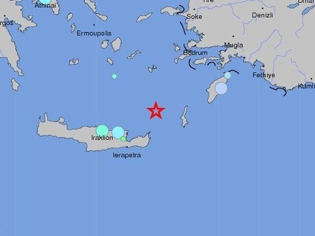Ο Εγκέλαδος στο Αιγαίο-6,2 Ρίχτερ στο Καρπάθιο πέλαγος
