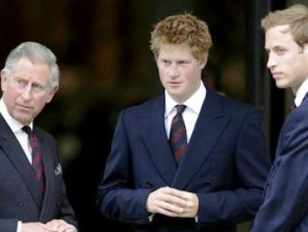 O William, ο Harry και ο Κάρολος θα περάσουν μαζί την παραμονή του πριγκιπικού γάμου