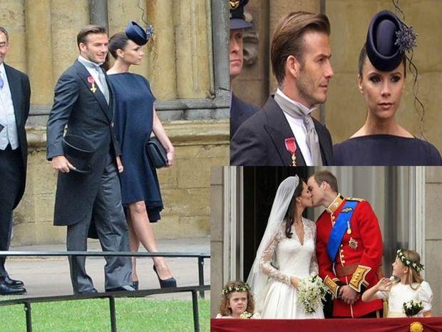 Το ζεύγος Beckham έκλεψε την παράσταση.