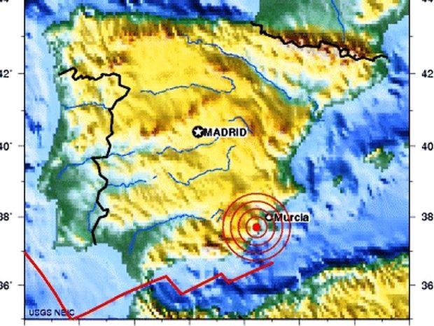 Φονικός σεισμός στην Ισπανία