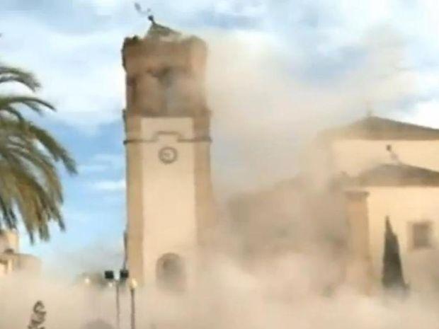 Άρης feat Πλούτωνας-Φονικός σεισμός στην Ισπανία