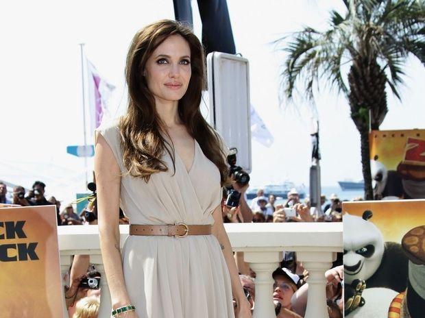 Angelina loves Ferragamo