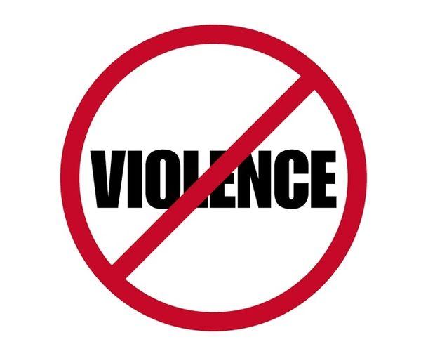 Violence. Tolerance has its limits.