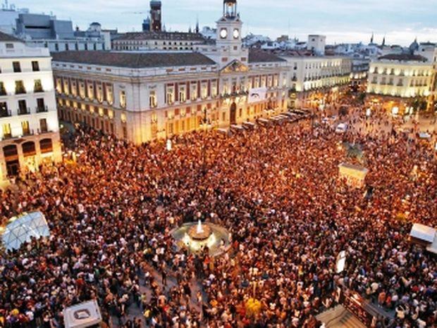 Ισπανία: Πλατεία Ταχρίρ θυμίζει η κεντρική πλατεία της Μαδρίτης