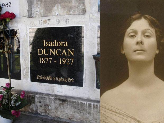 Ισιδώρα Ντάνκαν–Η χορεύτρια σύμβολο