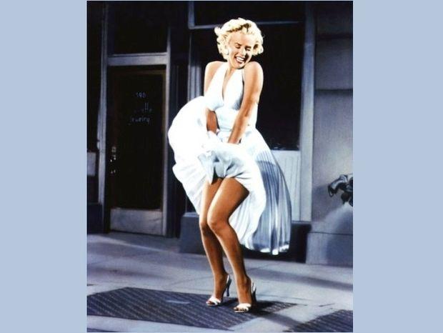 Το λευκό φόρεμα της Marilyn