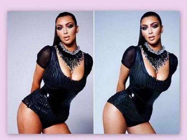Διάσημοι stars πριν και μετά το photoshop!