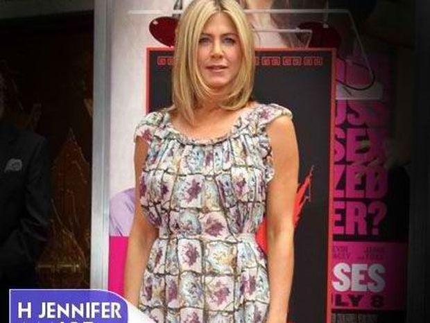 Η Jennifer Aniston φόρεσε κάτι που δεν είναι μαύρο και στράπλες.
