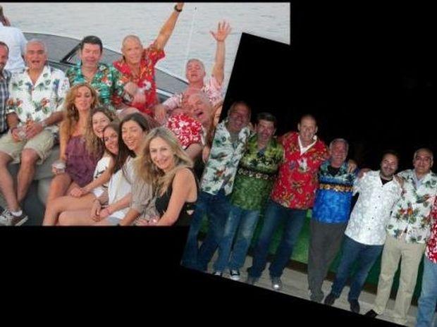 Φωτό: Ο Γιάννης Λάτσιος σε Χαβανέζικο πάρτι