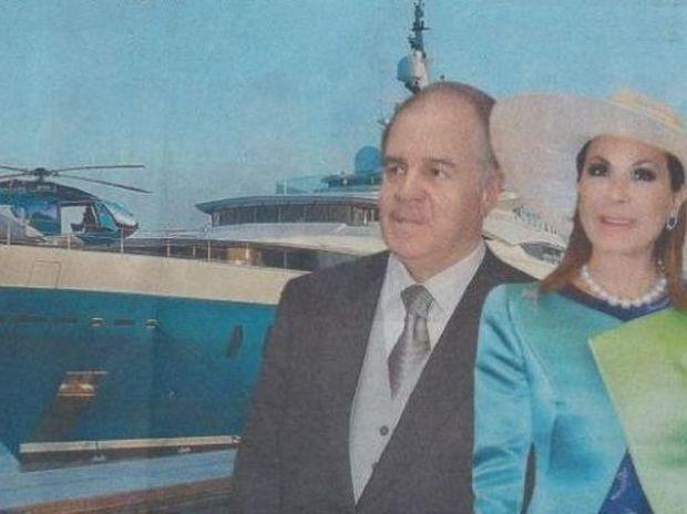 Γιάννα και Θεόδωρος: Αγόρασαν ελικόπτερο 13,5 εκατομμυρίων δολαρίων!