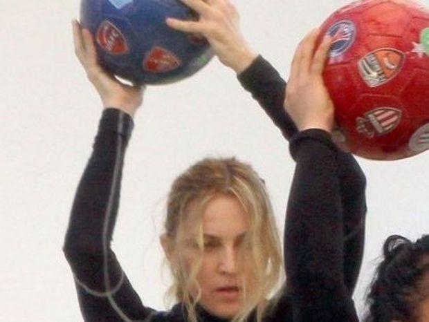 Γυμνάσου με τη Madonna