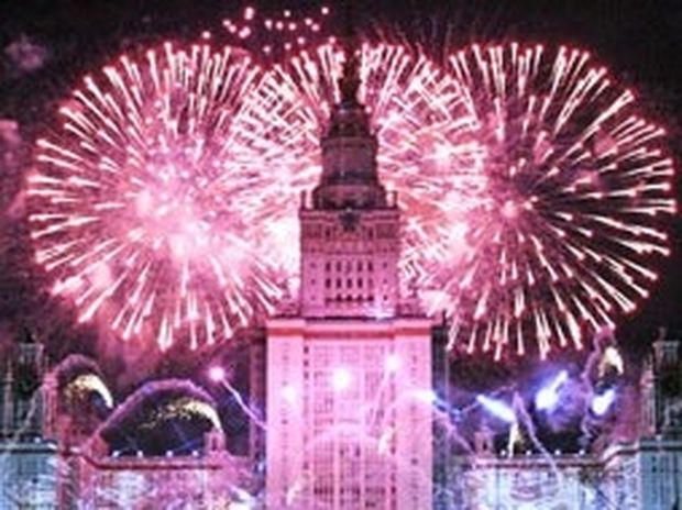 VIDEO:Απίστευτο σόου. Η Μόσχα γιορτάζει 864 χρόνια