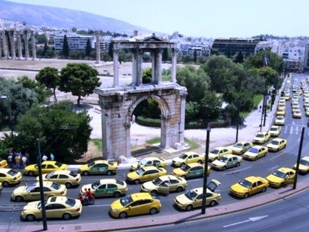 24ωρη απεργία αύριο από τις 05:00 τα ταξί