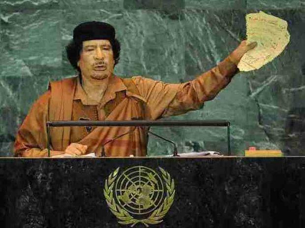 Δεν ξέρουν που κρύβεται ο Καντάφι