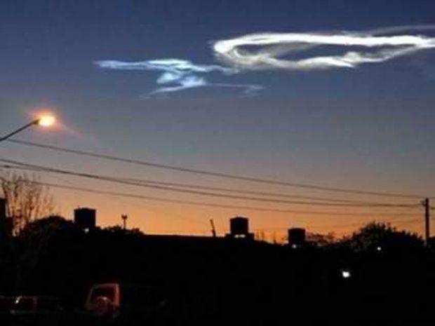 «Φωτιά» από τον ουρανό έπεσε στην Αργεντινή