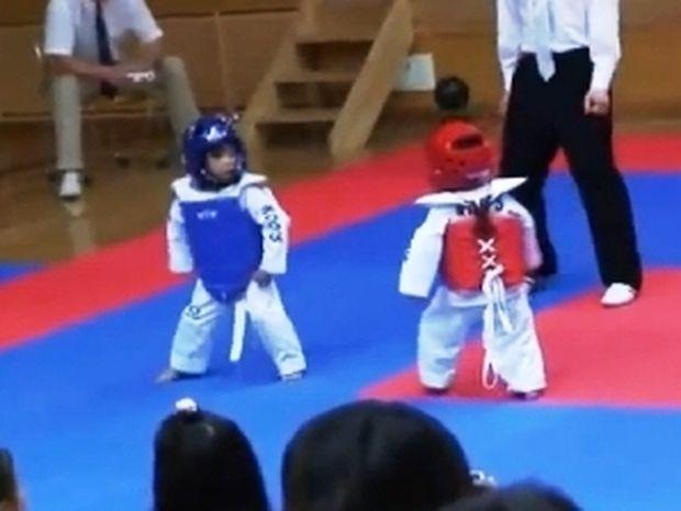 Taekwondo: Ο πιο γλυκός αγώνας