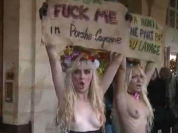 VIDEΟ: Γυμνόστηθες «καμαριέρες» στο σπίτι του Στρος Καν