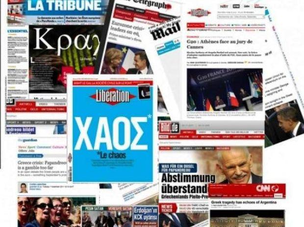 Ρεκόρ η «Greece» στα ξένα media με 30.000 αναφορές σε ένα μήνα!