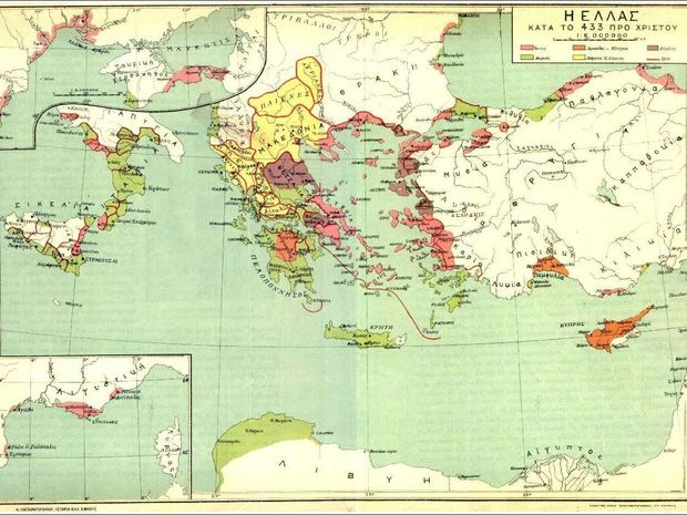 Ζώδια και Περιοχές στην Αρχαία Ελλάδα