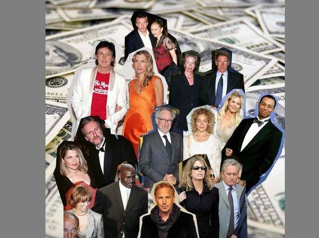 Tα πιο ακριβά διαζύγια στη showbiz