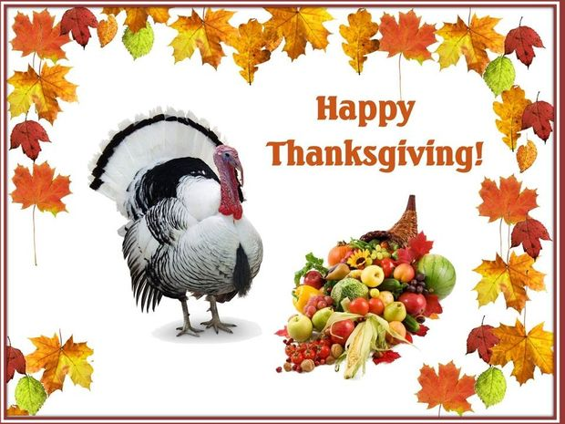 Happy Thanksgiving to you. Το μήνυμα της ημέρας....