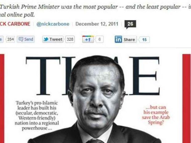 TIME: Ο Ερντογάν «έβαλε γκολ» στον Μέσι!