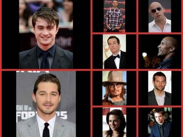 Forbes: Οι ηθοποιοί με τις μεγαλύτερες εισπράξεις το 2011!