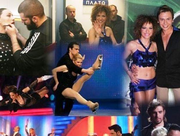 Δείτε φωτογραφίες από το live και τα παρασκήνια του Dancing on Ice