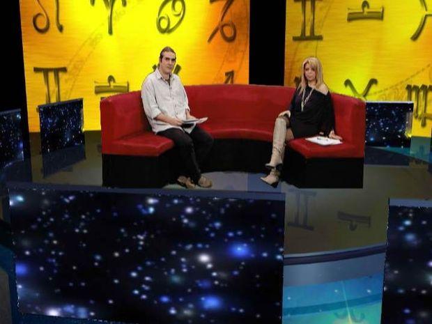 Το astrology.gr, ο Γ. Ριζόπουλος και η Β. Κόντη στο Channel 9