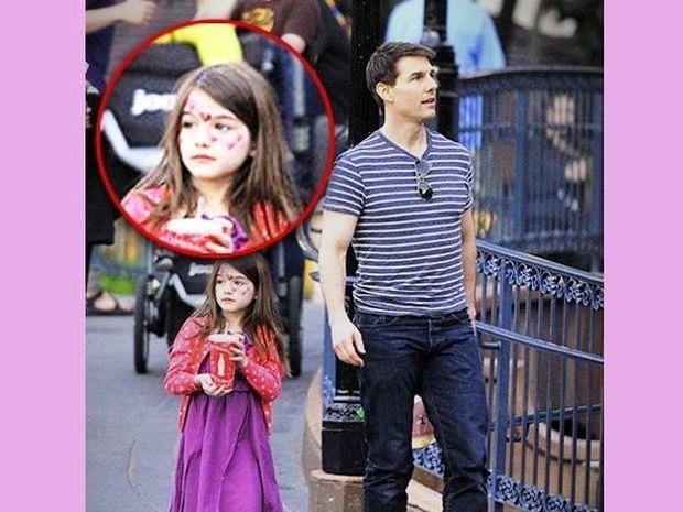Suri Cruise, το κορίτσι του μπαμπά με καρδούλες στο πρόσωπο