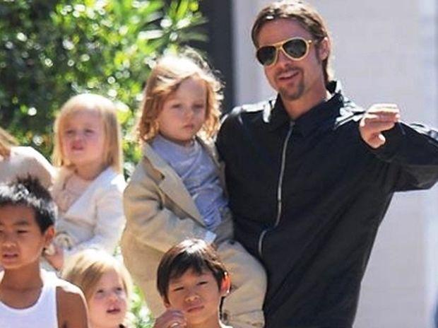 O αυστηρός μπαμπάς Brad Pitt