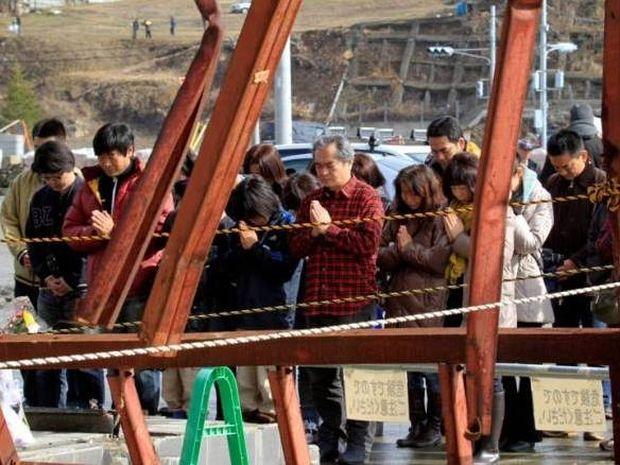 Φόρος τιμής στα θύματα της βιβλικής καταστροφής στην Ιαπωνία