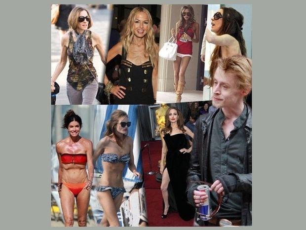 Μετρώντας τα κόκαλα των διάσημων κυριών του Hollywood