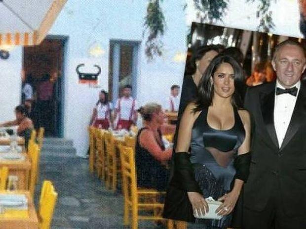 Ο άντρας της Salma Hayek αγόρασε μαγαζί στη Μύκονο!