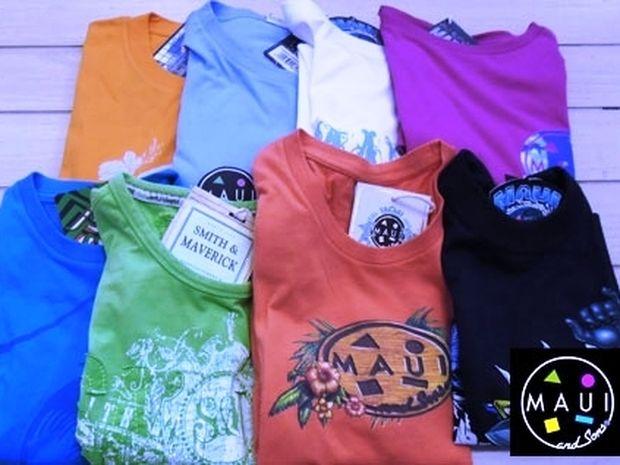 T-shirts Maui με 10.50€ και 14€ στα πιο trendy χρώματα της Άνοιξης!