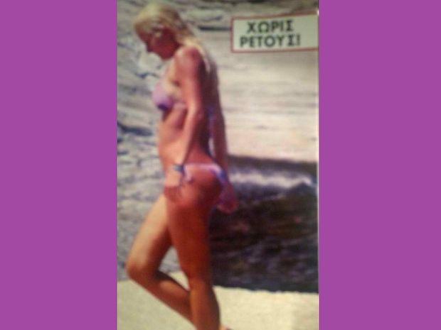 Ελένη Μενεγάκη: Το πρώτο μπάνιο στην Άχλα…και η αλήθεια!!!