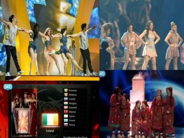 Eurovision 2012 ημιτελικός: Οι χώρες που πάνε τελικό