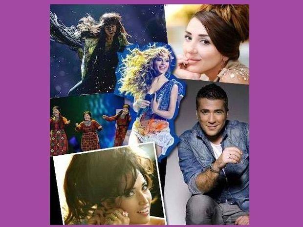 Eurovision 2012 : Οι αντίπαλοι της Ελευθερίας Ελευθερίου