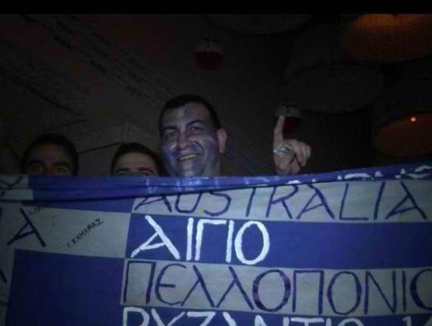 Οι Πολωνοί αστυνόμοι... χάζευαν το ελληνικό γλέντι (video)